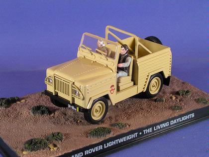 James Bond 007 Collection 1//43 Land Rover Lightweight Living Daylights Box #5627