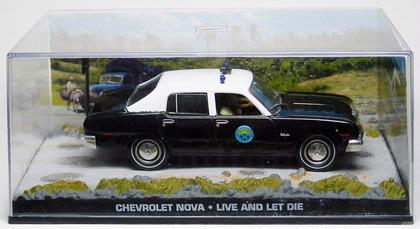 Chevrolet Nova,James Bond,Live and let die