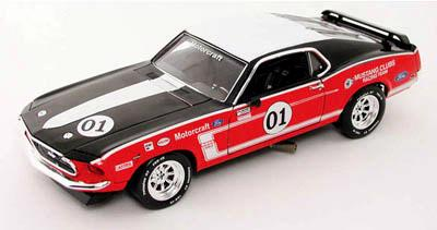 Ford Mustang Boss 302 1969 #01