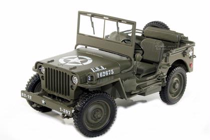 Jeep Willys 1/4 Ton Army Truck
