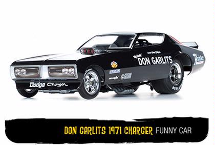 Dodge Charger 1971 Don Garlits Funny Car NHRA