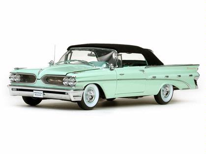 Pontiac Bonneville 1959 Closed Convertible