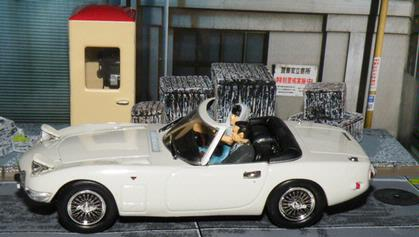 Toyota 2000 GT Cabrio James Bond You Only Live Twice