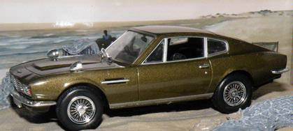 Aston Martin DB5 On her Majesty`s Secret Service