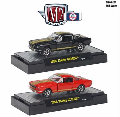 Set of 1:64 Shelby 50th Anniverary