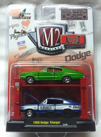 Set 1:64 Dodge Charger 1966