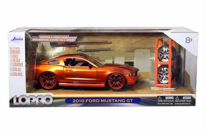 Ford Mustang GT 2010 With Extra Wheels