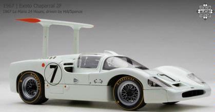Chaparral 2F 1967 Le Mans 24 Hours