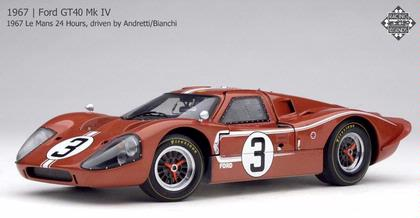 Ford GT40 MK IV 1967 Le Mans 24 Hours