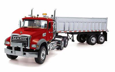 Mack Granite With End Dump Trailer Truck