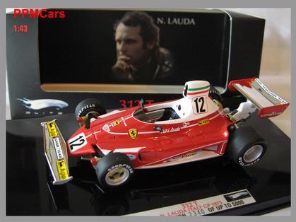 Ferrari 312 T GP 1975 N Lauda