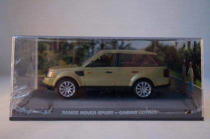 007 James Bond - Range Rover Sport - Casino Royale *check note*