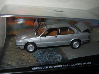 007 James Bond - Maserati Biturbo 425 - Licence To Kill