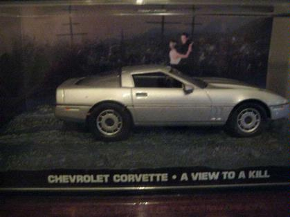 007 James Bond - Chevrolet Corvette - A View To A Kill