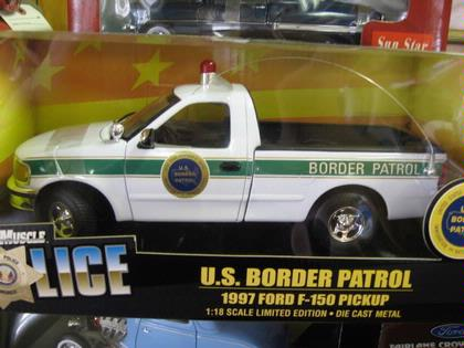 FORD F150 PICK UP U.S. BORDER PATROL