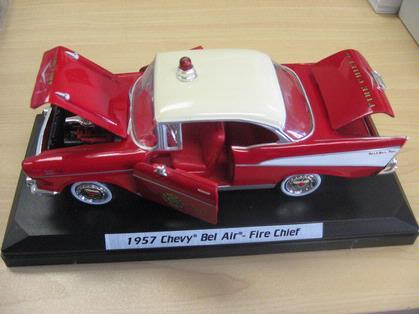 Chevrolet Bel Air pompier 1957