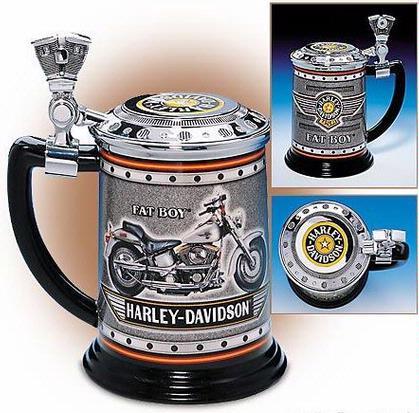 Harley Davidson Fat Boy Tankard
