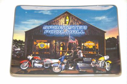 Harley-Davidson Sportster Pool Hall Plate