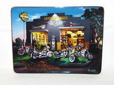 Franklin Mint  Harley-Davidson Softail Plate