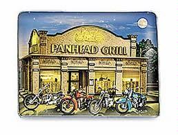 Harley-Davidson Panhead Grill Plate
