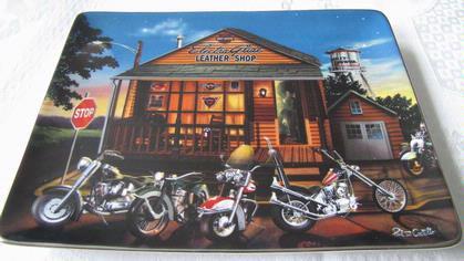 Harley-Davidson Electra Glide Plate