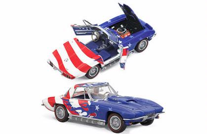 Chevrolet Corvette Star And Stripe