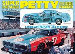 MPC Richard Petty NASCAR Charger with body in Petty Blue