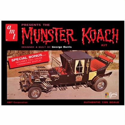 AMT Munsters Koach w/ cardboard display 1:25 Scale Model Kit