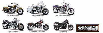 Harley-Davidson Series 29 (Include 6 motos)