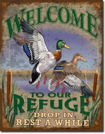 Welcome to our Refuge - Drop In Rest A While