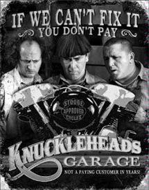 KNUCKLEHEADS GARAGE