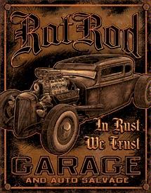 ROT ROD GARAGE