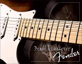 Fender - Built to Inspire