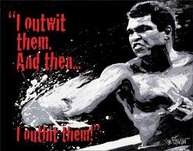 Ali - Outwit then Outhit
