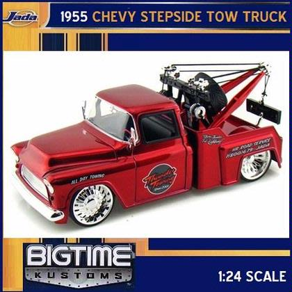 Chevy Stepside Tow Tuck 1955