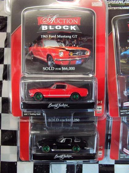 1:64 Set Auction Block Series 8 *GREEN MACHINES*