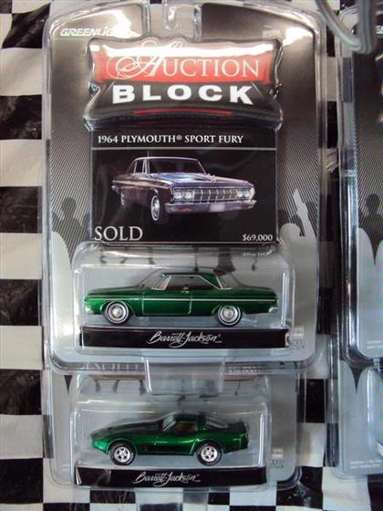 1:64 Set Auction Block Series #5 *GREEN MACHINES*
