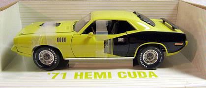 Plymouth Hemi Cuda 1971 **Last One**