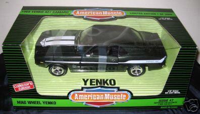 1969 Camaro 427 Yenko in Fathom