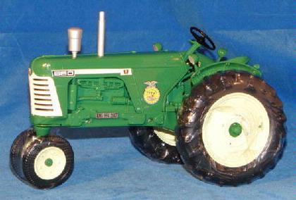 Oliver 660 Gas NF Tractor, 2007 IA FFA