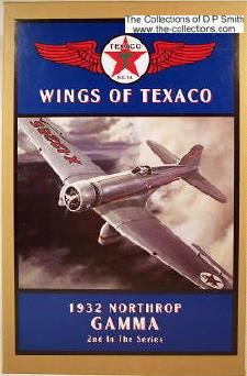 plane Wings of Texaco #2 1932 Northrop Gamma