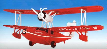 Plane Texaco - Wings Of Texaco #8 (2000) 1936 Keystone-Loening Bi-Wing Commuter Seaplane