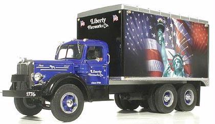 Mack L Dry Goods Van