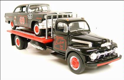 Ford F-6 Flatbed 1951 & Stock Car 1956