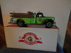 Smokey Bear 1949 KB-8 International Fire Truck #3