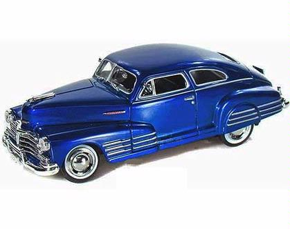 Chevrolet Aerosedan Fleetline 1948