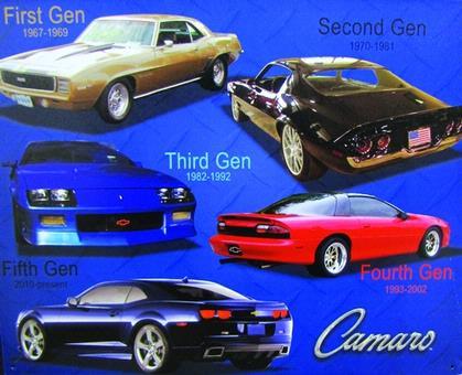 Camaro 5 Generations