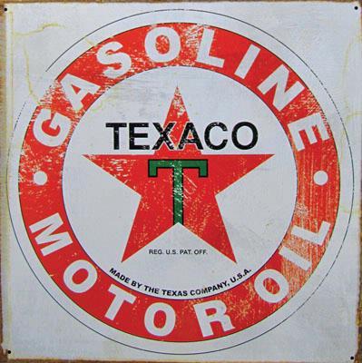 TEXACO GASOLINE 1926