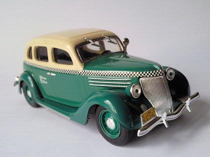 Ford V8 Taxi Chicago 1936