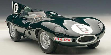 Jaguar D-Type LeMans 24H Race 1955